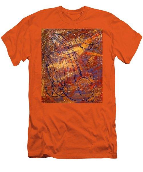 Mind Reflection  Men's T-Shirt (Slim Fit)