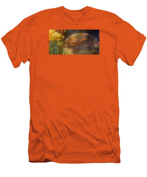 Mindfulness Men's T-Shirt (Slim Fit) by Theresa Marie Johnson