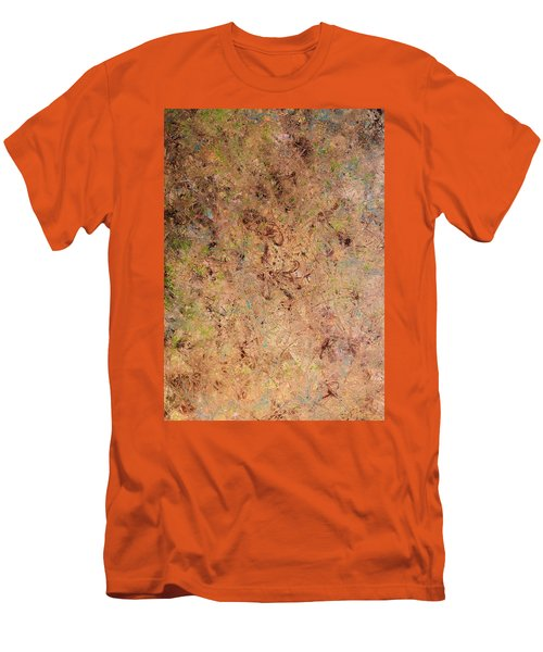 Men's T-Shirt (Slim Fit) featuring the painting Minimal 7 by James W Johnson