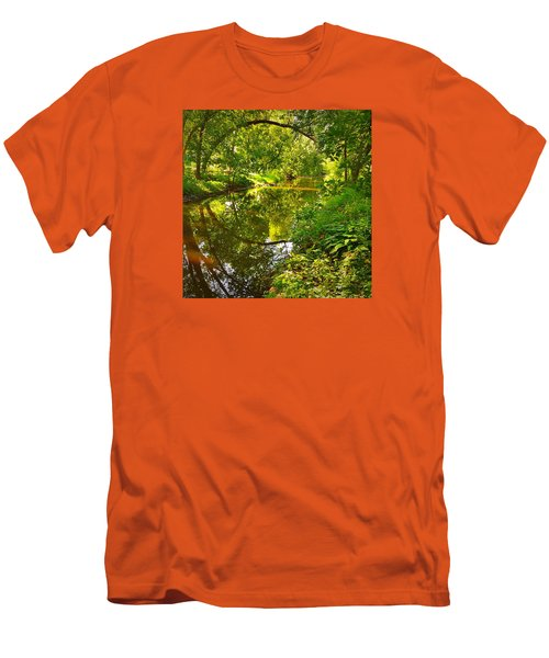 Men's T-Shirt (Slim Fit) featuring the photograph Minnesota Living by Lisa Piper