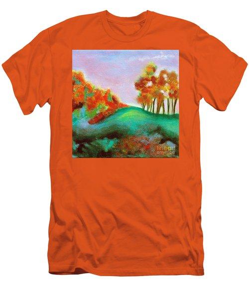 Misty Morning Men's T-Shirt (Slim Fit) by Elizabeth Fontaine-Barr