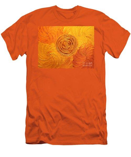 Molten Spiral Men's T-Shirt (Athletic Fit)