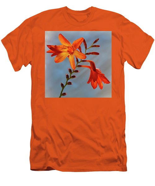 Montbretia 1 Men's T-Shirt (Athletic Fit)