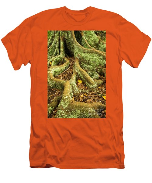 Men's T-Shirt (Slim Fit) featuring the photograph Moreton Bay Fig by Werner Padarin