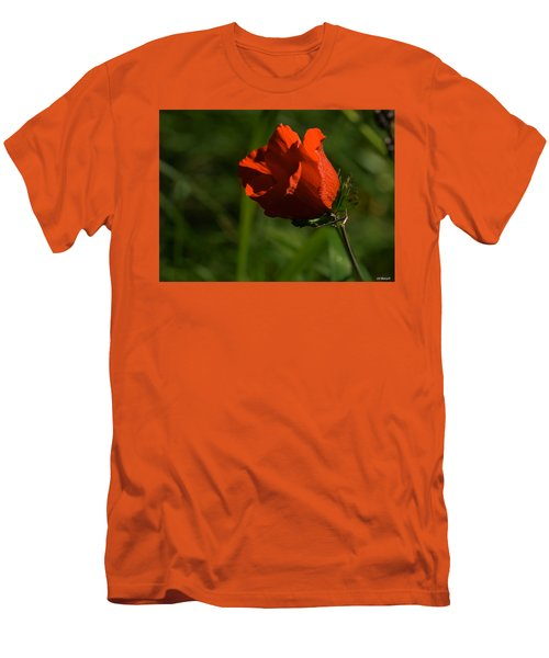 Morning Glory Men's T-Shirt (Slim Fit) by Uri Baruch