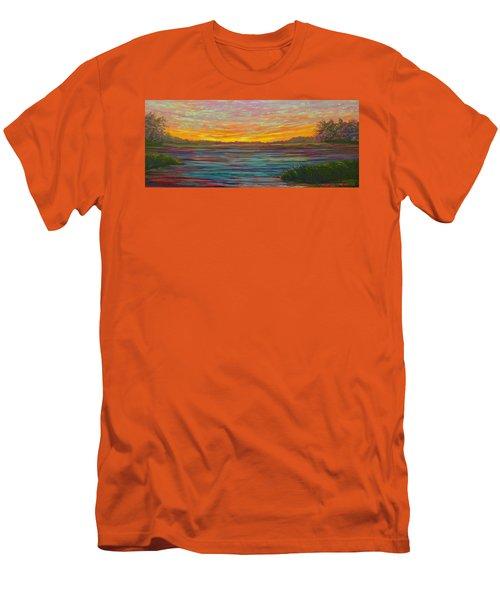 Southern Sunrise Men's T-Shirt (Slim Fit) by Jeanette Jarmon