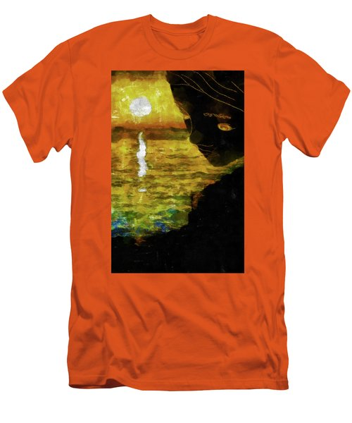 Men's T-Shirt (Slim Fit) featuring the photograph Mother Earth Watching by Joseph Hollingsworth