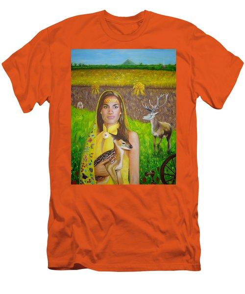 Mother Goddess Ker - Lammas Men's T-Shirt (Athletic Fit)