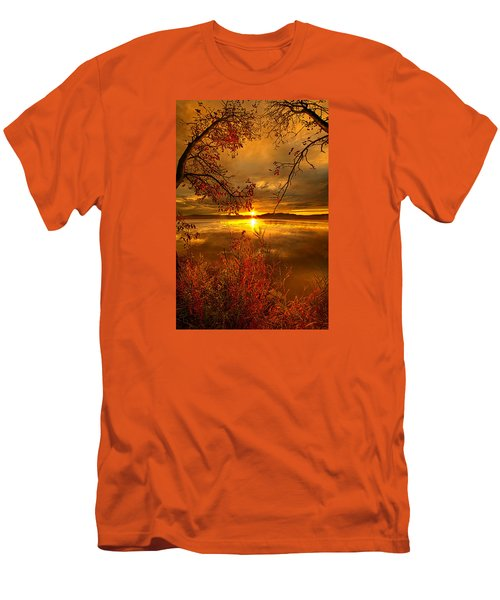 Mother Nature's Son Men's T-Shirt (Slim Fit) by Phil Koch