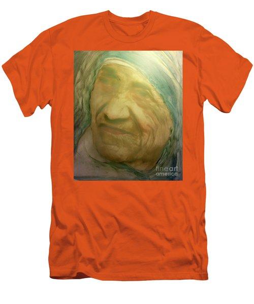 Mother Teresa Men's T-Shirt (Slim Fit) by FeatherStone Studio Julie A Miller