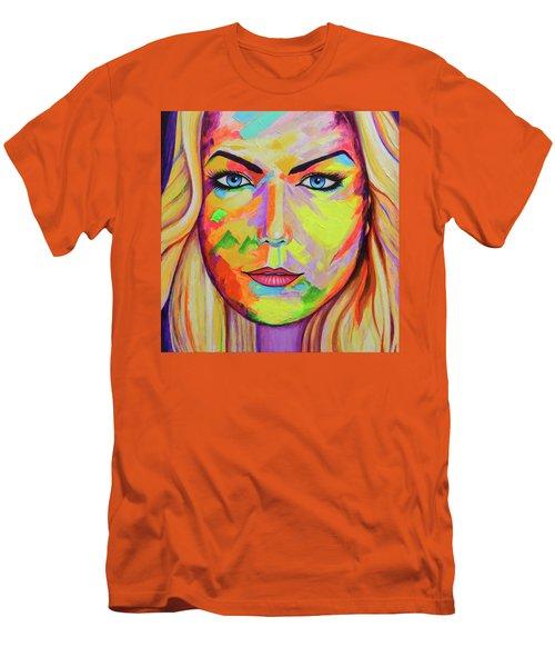 Mujer Men's T-Shirt (Slim Fit) by Angel Ortiz