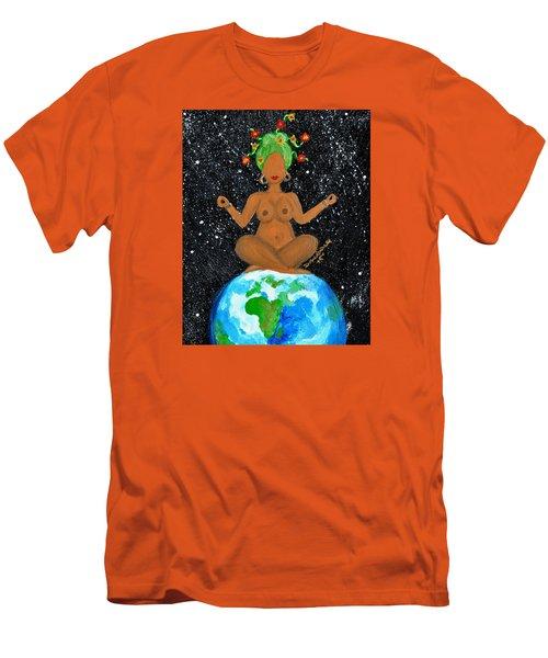 My Own World Men's T-Shirt (Slim Fit) by Diamin Nicole