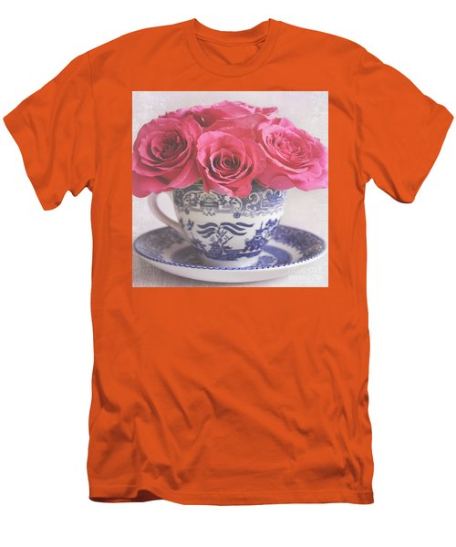 Men's T-Shirt (Slim Fit) featuring the photograph My Sweet Charity by Lyn Randle