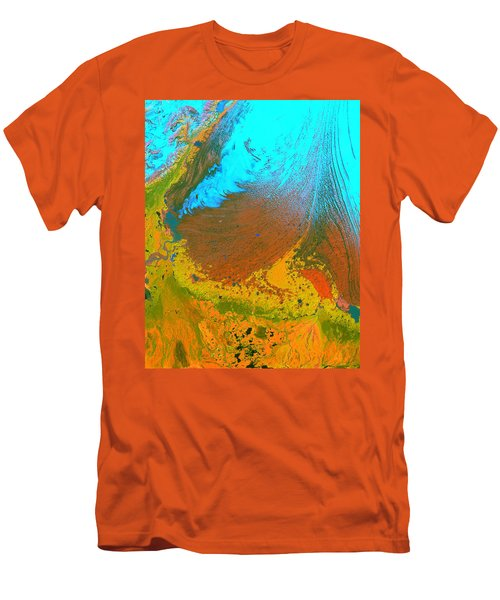 Nasa Image-malaspina Glacier, Alaska-glacier-2 Men's T-Shirt (Athletic Fit)