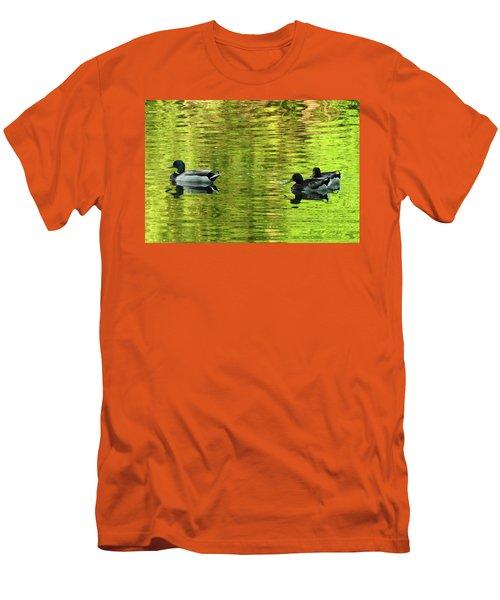 Nature's Impressionist Art No.3 Men's T-Shirt (Slim Fit)