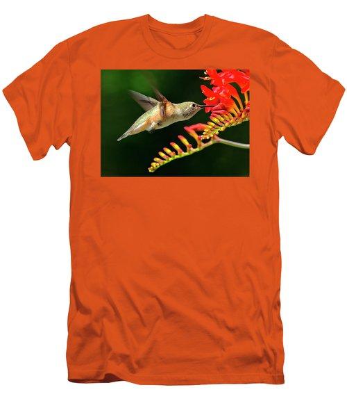 Nectar Time Men's T-Shirt (Slim Fit) by Sheldon Bilsker