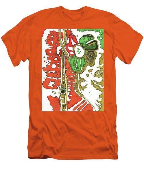 Nightmare In The Garden Men's T-Shirt (Athletic Fit)