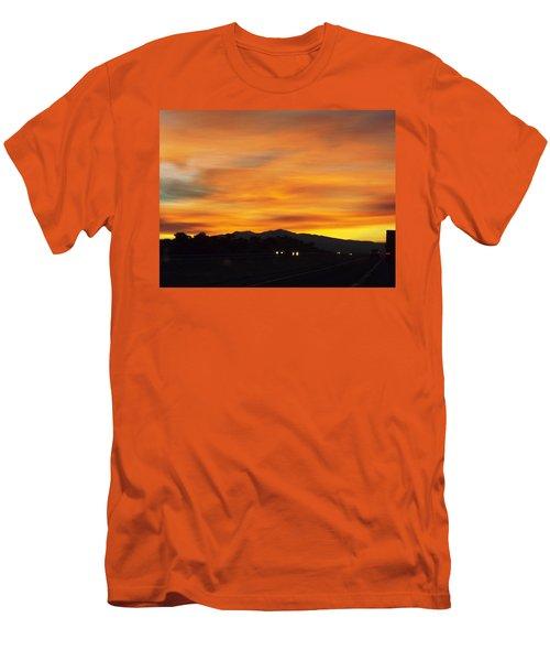 Nm Sunrise Men's T-Shirt (Athletic Fit)