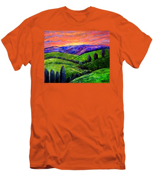 No Place Like The Hills Of Tennessee Men's T-Shirt (Slim Fit) by Kimberlee Baxter