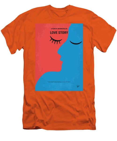 No600 My Love Story Minimal Movie Poster Men's T-Shirt (Athletic Fit)