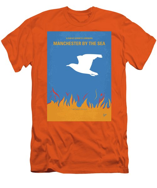 Men's T-Shirt (Slim Fit) featuring the digital art No753 My Manchester By The Sea Minimal Movie Poster by Chungkong Art