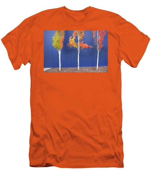 Men's T-Shirt (Slim Fit) featuring the photograph Now Showing by Theresa Tahara
