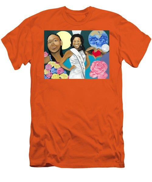 Nubian Princess Men's T-Shirt (Slim Fit) by Angelo Thomas