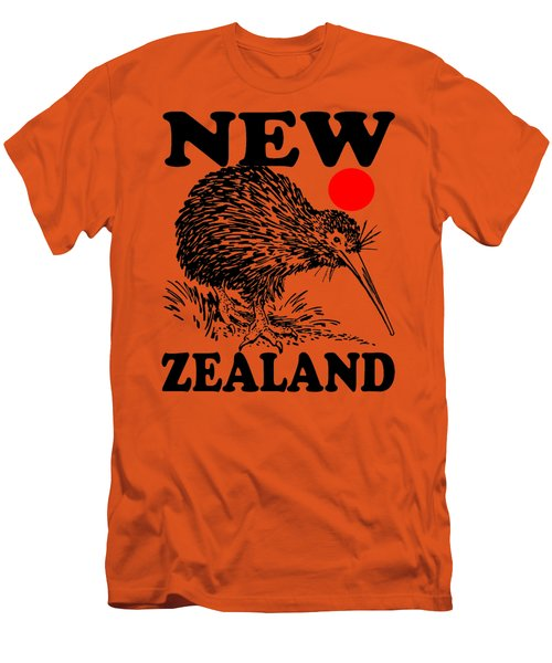 Nz-kiwi Men's T-Shirt (Athletic Fit)