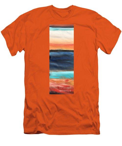 Oak Creek #31 Southwest Landscape Original Fine Art Acrylic On Canvas Men's T-Shirt (Athletic Fit)
