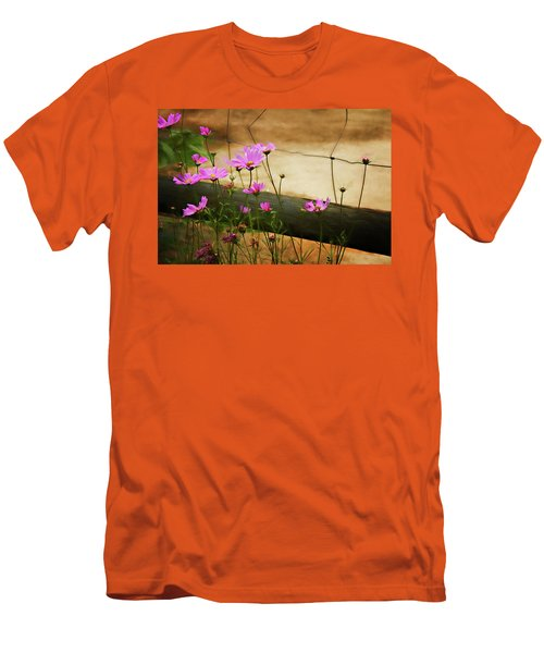 Oasis In The Desert Men's T-Shirt (Slim Fit) by Lana Trussell