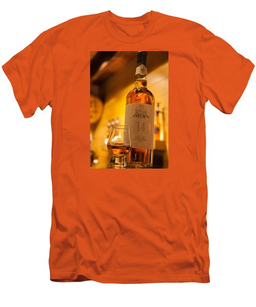 Oban Whisky Men's T-Shirt (Athletic Fit)
