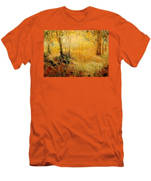 October Glow Men's T-Shirt (Athletic Fit)