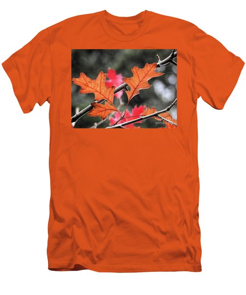 Men's T-Shirt (Athletic Fit) featuring the photograph October by Peggy Hughes