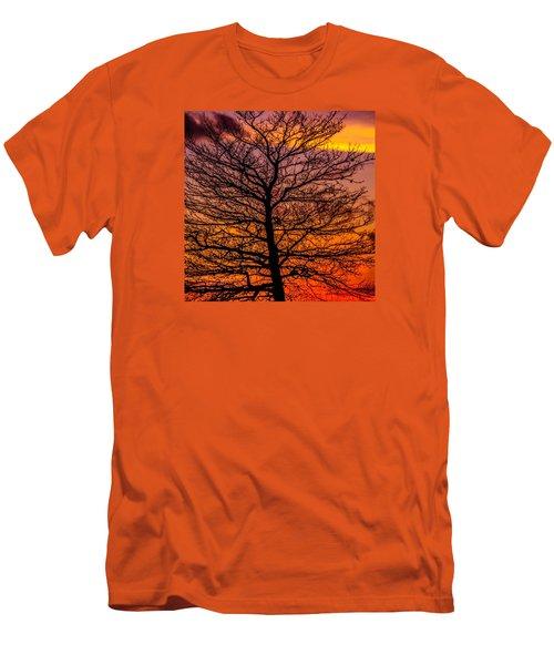 October Sky Men's T-Shirt (Athletic Fit)