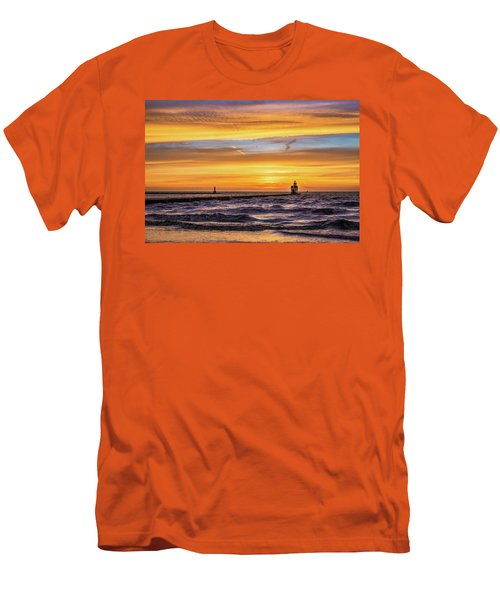 Men's T-Shirt (Athletic Fit) featuring the photograph October Surprise by Bill Pevlor