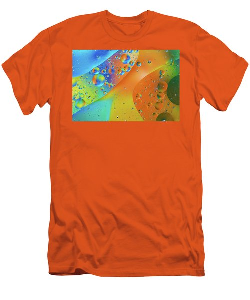 Oil And Water 10 Men's T-Shirt (Slim Fit) by Jay Stockhaus