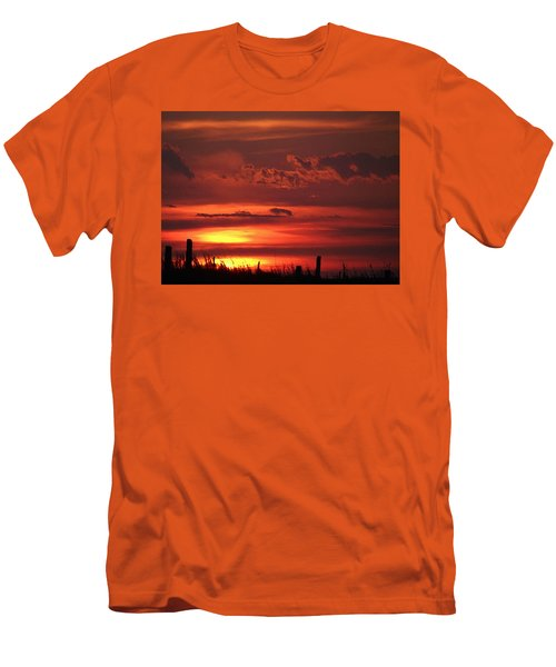 Oklahoma Sky At Daybreak  Men's T-Shirt (Athletic Fit)
