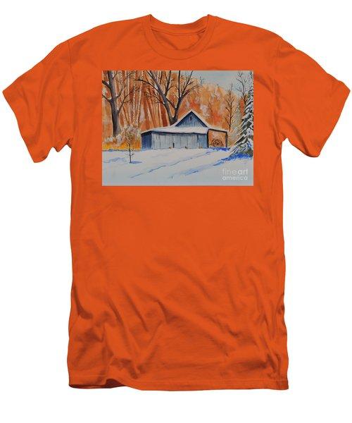 Old Barn I Men's T-Shirt (Athletic Fit)