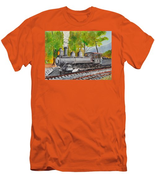 Old Engine 8 Men's T-Shirt (Athletic Fit)