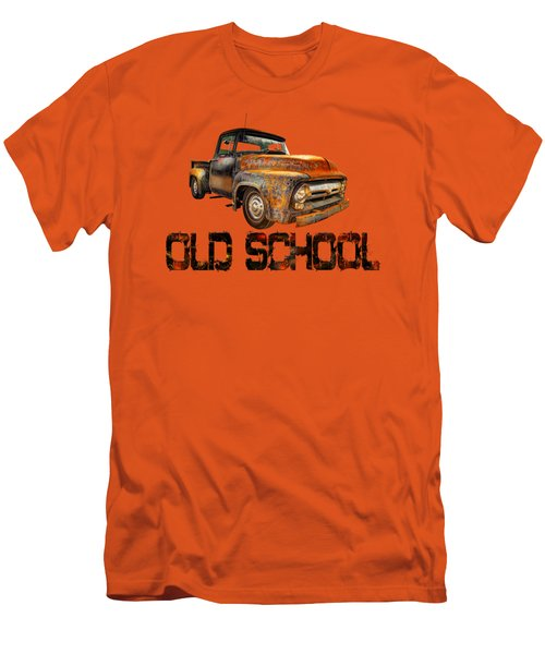 Old Truck Right Attitude Men's T-Shirt (Athletic Fit)