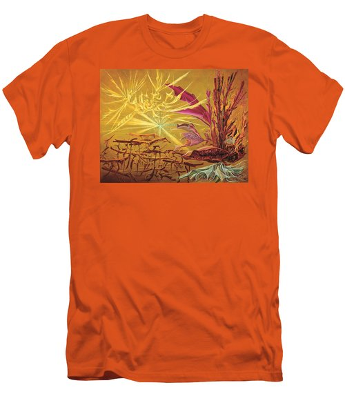 Olivier Messiaen Landscape Men's T-Shirt (Slim Fit) by Charles Cater