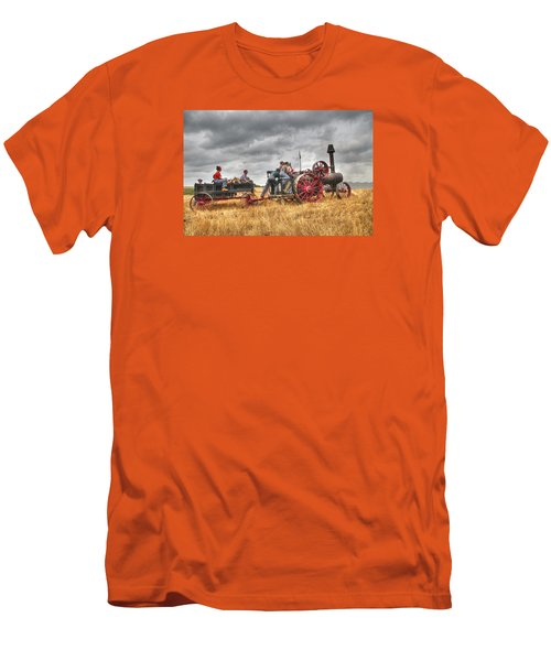 On The Way Men's T-Shirt (Slim Fit) by Shelly Gunderson