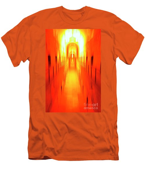 Men's T-Shirt (Slim Fit) featuring the photograph On The Way To Death Row by Paul W Faust - Impressions of Light