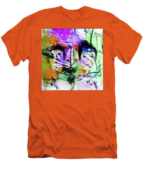 Men's T-Shirt (Athletic Fit) featuring the digital art One In Every Three by Jim Vance