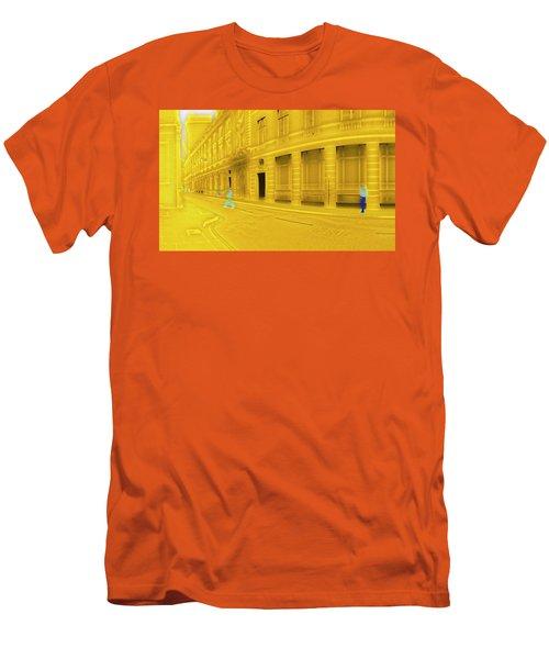 One-legged Man Men's T-Shirt (Athletic Fit)