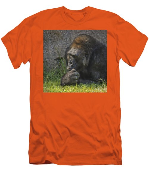 One Of These Days Alice Men's T-Shirt (Slim Fit)