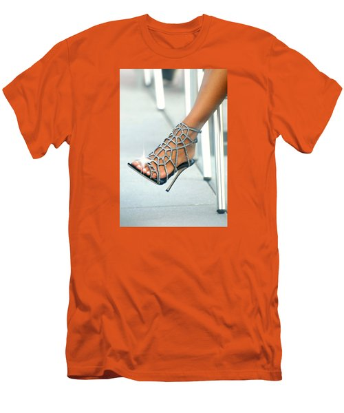 Open Toe Men's T-Shirt (Slim Fit) by Diana Angstadt