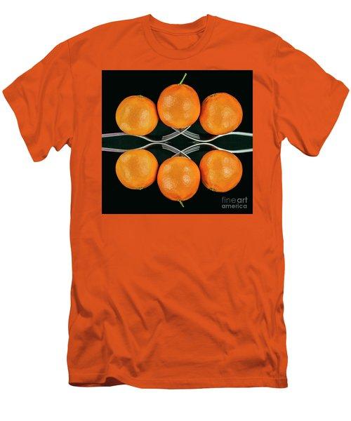 Orange Balance Men's T-Shirt (Athletic Fit)