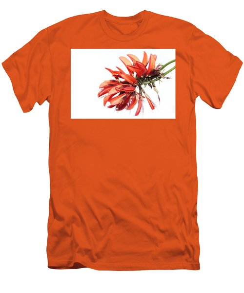 Men's T-Shirt (Slim Fit) featuring the photograph Orange Clover I by Stephen Mitchell