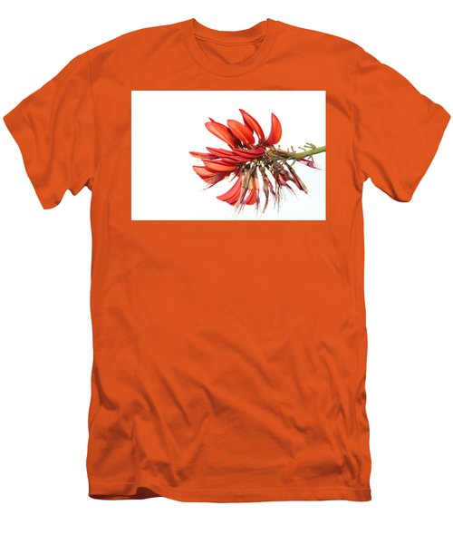 Men's T-Shirt (Slim Fit) featuring the photograph Orange Clover IIi by Stephen Mitchell